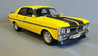 1:18 Classic Carlectables Ford Falcon XY GTHO ph 3 Yellow Glow.