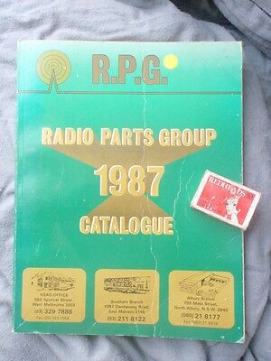 1987 Radio Parts Catalogue illustrated 290 pages