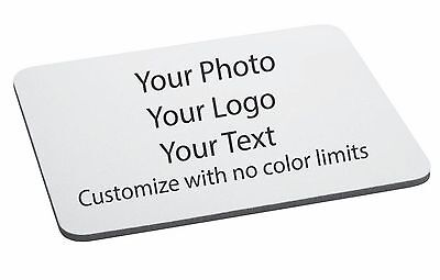 Custom Printed Mouse Pad Personalized Photo, logo, design Add Your Own Image