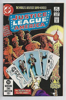Justice League Of America #203 : Very Fine- 7.5 : First Print