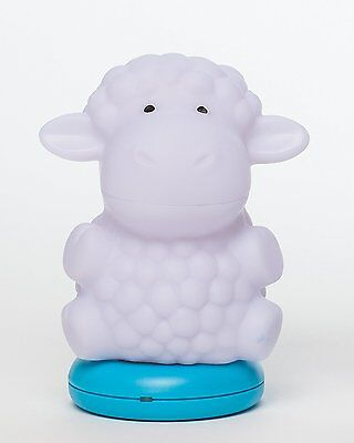Kinderglo Portable Fun and Safe Rechargeable Night Light, Lamb