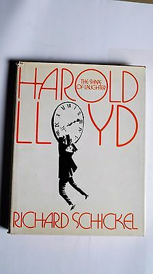 19/3/090 Richard Schickel - Harold Lloyd The Shape of Laughter 1974 Gebundene Au