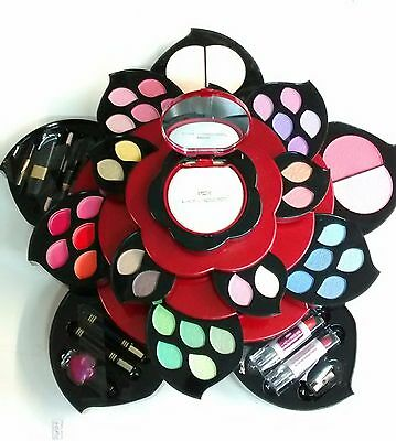Trucco Professionale Make Up Set Flower 30 Colori Cosmetici Eyeshadow Ombretti