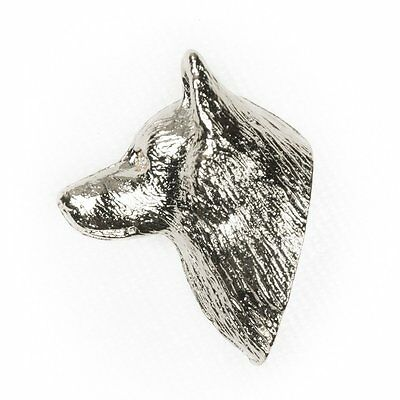 SCHIPPERKE Made in U.K Artistic Style Dog Clutch Lapel Pin Collection