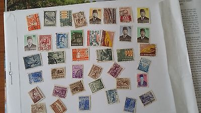 Indonesia - used stamps lot 3