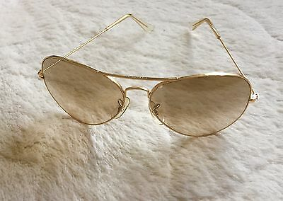 Vintage Ray Ban Arista Gold FANTASEES Sonnenbrille Bausch & Lomb B&L 62[]14