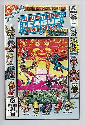 Justice League Of America #208 : Very Fine/Near Mint 9.0 : First Print