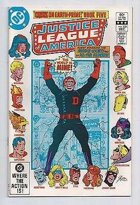 Justice League Of America #209 : Very Fine 8.0 : First Print