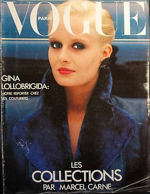 Magasine VOGUE - #589 - Septrmbre 1978