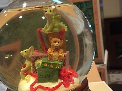 POCKET DRAGONS MUSICAL WATERGLOBE PRESENTs New In Box Lowest On Ebay