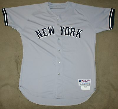 2004 Kevin Brown New York Yankees Team Issued Road Jersey Steiner