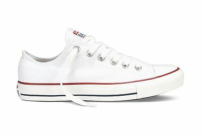 Converse Women Unisex All Star Low Chuck Taylor Trainers Shoes White Size 6