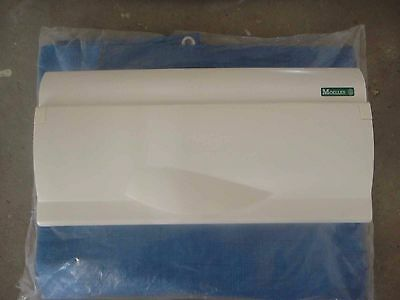 Moeller 14 Way Duel Split Load Consumer Unit 2 Pole 100 Amp Main Switch RCD
