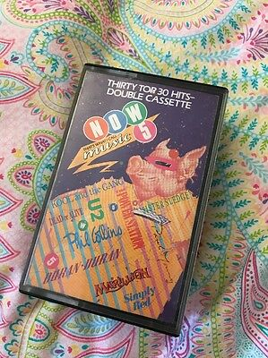 Now That's What I Call Music 5 Cassette Tape