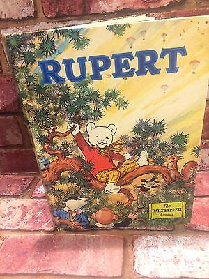 *RUPERT ANNUAL - The Daily Express Annual 1973 VINTAGE COMIC STRIP ALFRED BESTAL