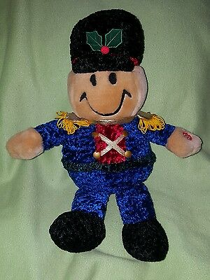 Dan Dee TICKLE TICKLE WIGGLE WIGGLE plush Christmas soldier sings giggles