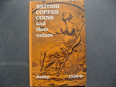 British Copper Coins & their values 1968-9 - Seaby.