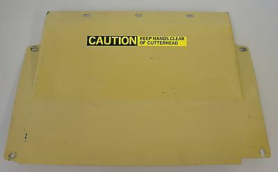 "Powermatic 15"" Planer Model 15Hh Dust Hood Cover 6284791"