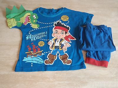 Boys PYJAMAS  JAKE AND THE NEVER LAND PIRATES Age 3 / 4 Years NEW without tags