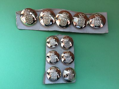 Royal Army Ordnance Corps British Military Button Set