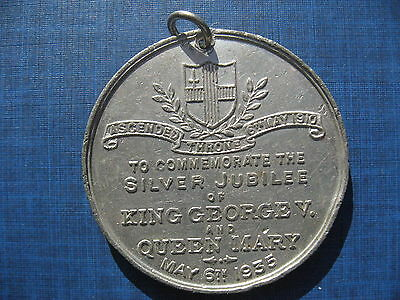 Medallion - To commemorate the Silver Jubilee of King George V & Queen Mary 1935