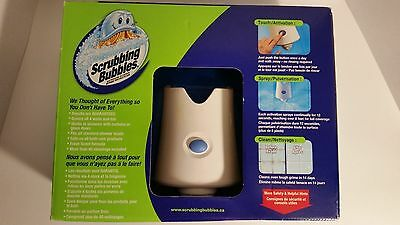 New Scrubbing Bubbles Automatic Shower Cleaner Starter Kit with 2 Bottles