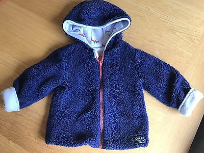 Joules Reversible Jacket 12-18 Months Fab Condition