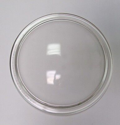 """Antique Vintage Corning 8-3/8"""" Clear Glass Downlight Lens 1935 from Novalux"""