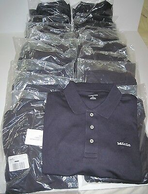 Wholesale Lot Of 23 Lands End Short Sleeve Golf Polo Shirts. Logo.