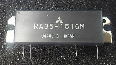 40W VHF Power Amplifier PA Module Mitsubishi RA35H1516M - 2M or Mod for 4 or 6M