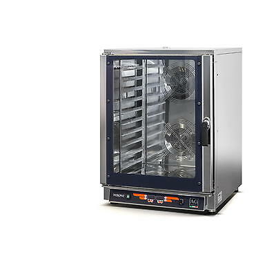 Commercial 10 Tray Combi Oven / Steam Oven, 304 Stainless - Made in Italy!