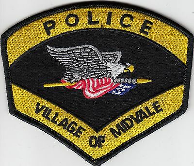 Midvale Police Shoulder Patch Ohio Oh