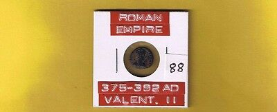 """Ancient Roman Empire coin of  """"Valentinian II"""" 375-392 AD . AE4 12mm .. Campgate"""