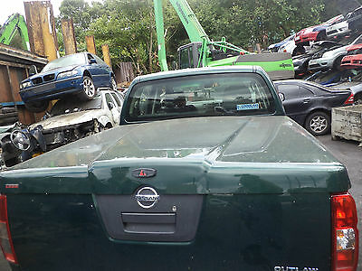 Nissan Navara D40 Rear Hard Top Tonneau Cover (2005-2009)