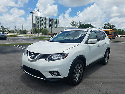 2014 Nissan Rogue SL Sport Utility 4-Door 2014 Nissan Rogue SL SUV 2.5L AWD LOW MILES NAVIGATION LEATHER BEST OFFER