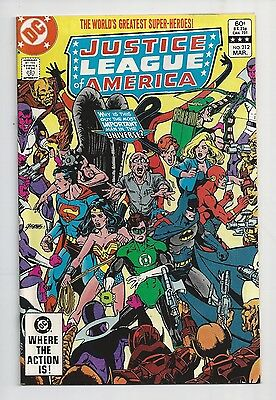 Justice League Of America #212 : Very Fine/Near Mint 9.0 : First Print
