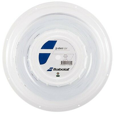 BABOLAT Synthetic Gut 200M REEL 17/1.25 - WHITE