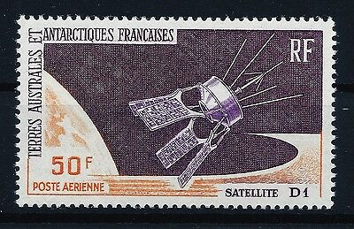 TAAF French Antarctic FSAT 1966 Satelite space stamp clean MNH OG VF