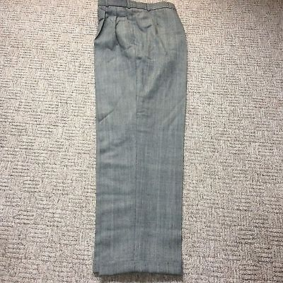 Northern Soul Trousers Wideleg 34/32 Does 40s 50s Vintage Style   Wool Blend