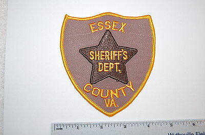 Essex County Virginia Sheriff's Dept Patch