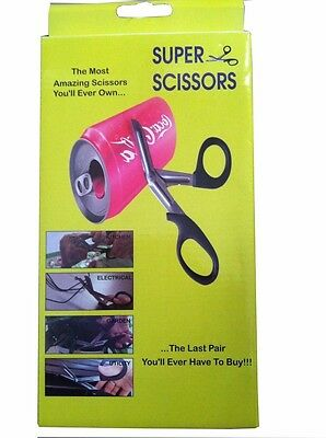 Super Scissor Multi Purpose Sharp Tough Scissor Meat,plastic,kitchen,household