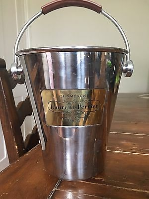 Laurent Perrier Champagne Bucket With Leather Handle
