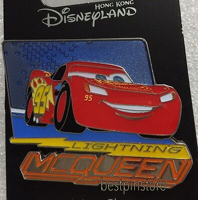 Hong Kong Disney pin - HKDL 2017 Pixar Cars 3 Series - Lightning McQueen