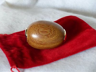 Superb Collector Egg as a Unique Kaleidoscope in Beautiful Wild Mango Wood