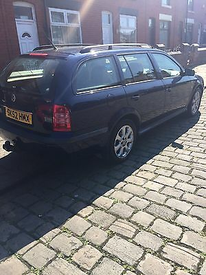 2002 skoda Octavia 2.0tdi laurin and klement edition  --spares or repairs--