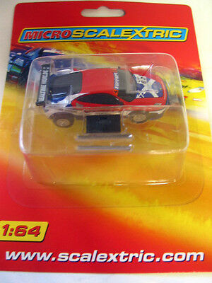 MICRO SCALEXTRIC  FERRARI  #62 brand new on card  ho AURORA TYCO COMPATIBLE