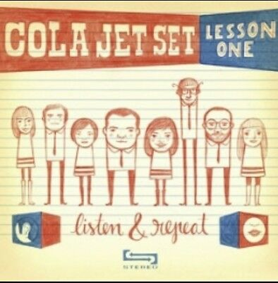 "7"" Vinyl Cola Jet Set Lesson One Listen & Repeat Elefant Records"