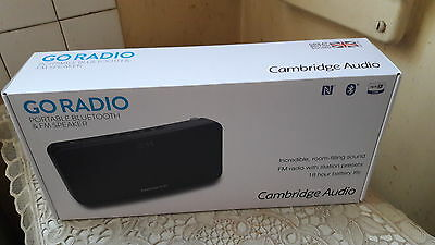 Cambridge audio go radio haut parleur bluetooth +radio fm
