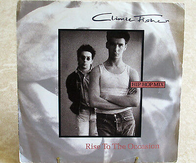 "Climie Fisher - Rise To The Occasion [Hip-Hop Mix 7"" 45rpm Vinyl Picture Sleeve]"