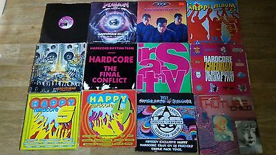 19 x hardcore vinyl collection happy hardcore future sound /rhythm team /fusion